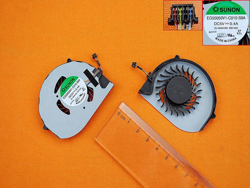 Ventilátor chlazení pro notebooky Acer Aspire S3 S3-951 331 371 391