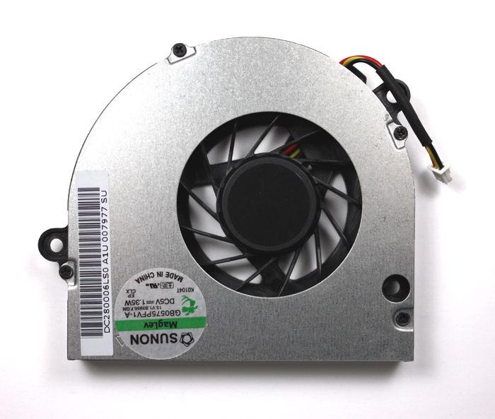 Ventilátor chlazení pro notebooky Acer Aspire 5516 5517 5532 5332 E627