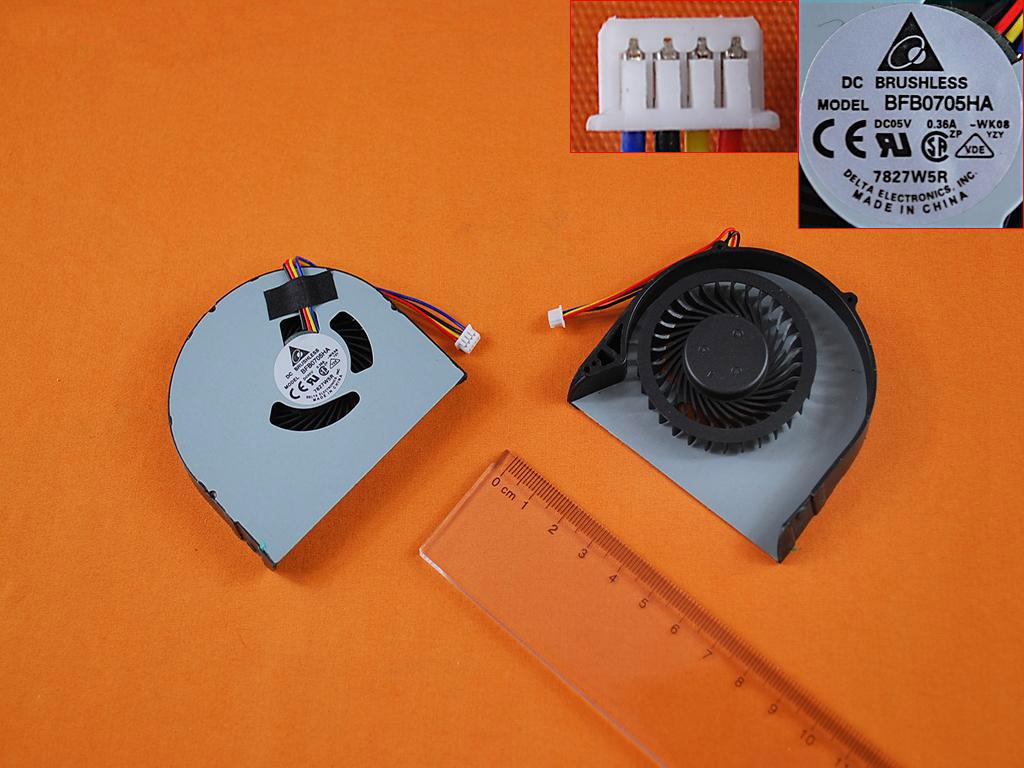 Ventilátor chlazení pro notebooky Lenovo B480 B480A B485-B490 B590 M490 M495 E49