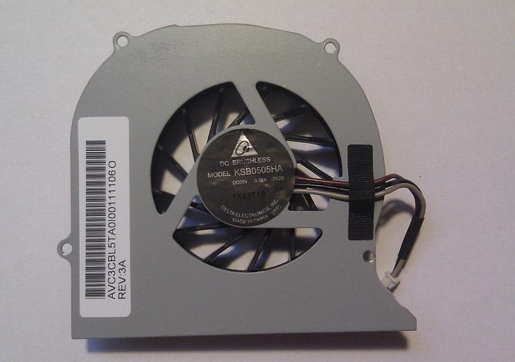 Ventilátor chlazení pro notebooky Toshiba Satellite P300, verze 2
