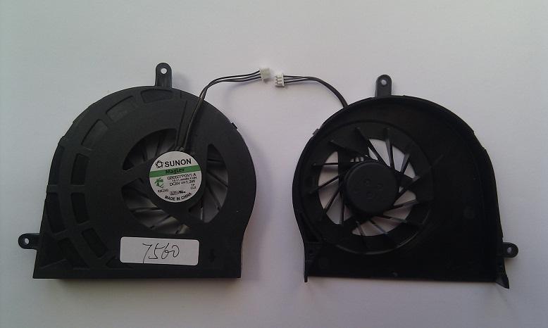 Ventilátor chlazení pro notebooky Acer Aspire 7560 7560G 7750