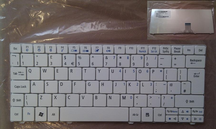 Klávesnice na notebooky Acer Aspire One 722 1830T 751H 1430 8172 AO722H