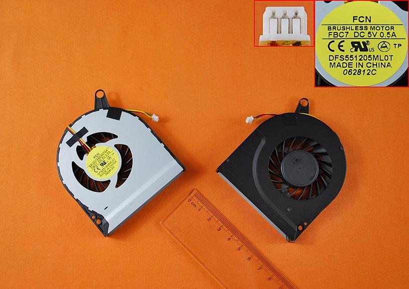 Ventilátor chlazení pro notebooky Acer Aspire V3 V3-771 V3-771G