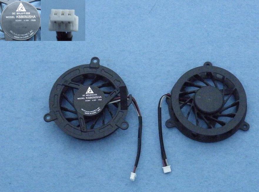 Ventilátor chlazení pro notebooky Toshiba Satellite A300 M300 M301 M302 M305 M306 M307 M308