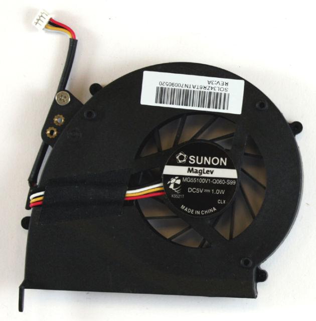 Ventilátor chlazení pro notebooky Acer Extensa 5235 5635 5635ZG ZR6 eMachines E528