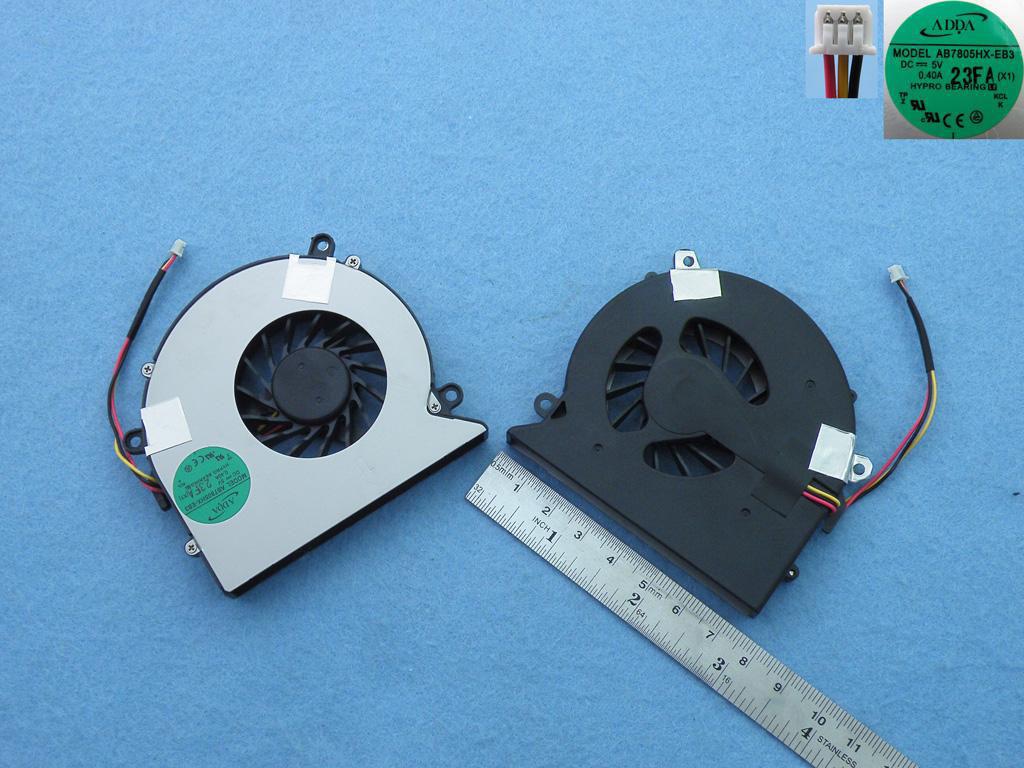 Ventilátor chlazení pro notebooky Acer Aspire 5520 5720 7720 7520