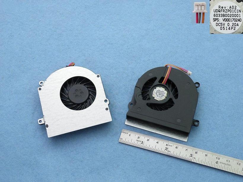 Ventilátor chlazení pro notebookyToshiba Satellite Toshiba L500D L505 L510 L515 L525 L526 L536 L511
