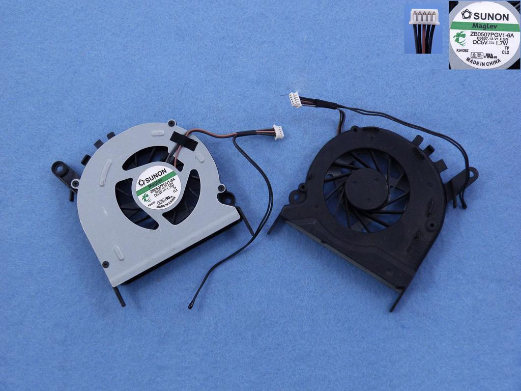 Ventilátor chlazení pro notebooky Acer Aspire 7230 7530 7630 7730