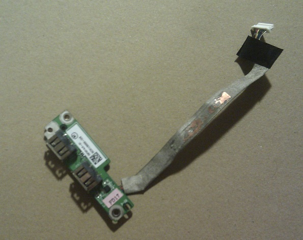 Acer Aspire 6530G - USB porty