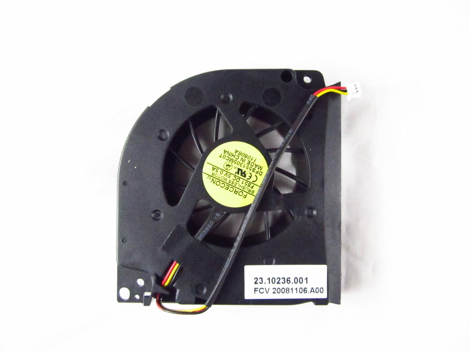 Ventilátor chlazení pro notebooky Acer TravelMate 5230 5330 5530 5730 5520G 5740 5710G 5710 5720 5520 5100