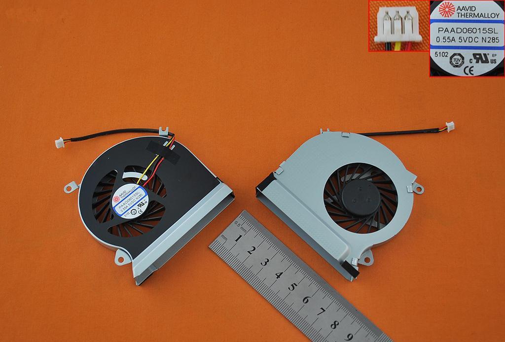 Ventilátor chlazení pro notebooky MSI GE70, MS-1756, MS-1757 E33-0800413-MC2