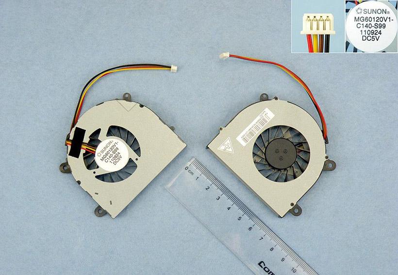 Ventilátor chlazení pro notebooky Lenovo G770 3000