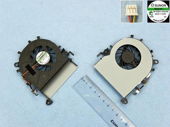 Ventilátor chlazení pro notebooky Acer Aspire 5349 5349G Gateway E732 E732G