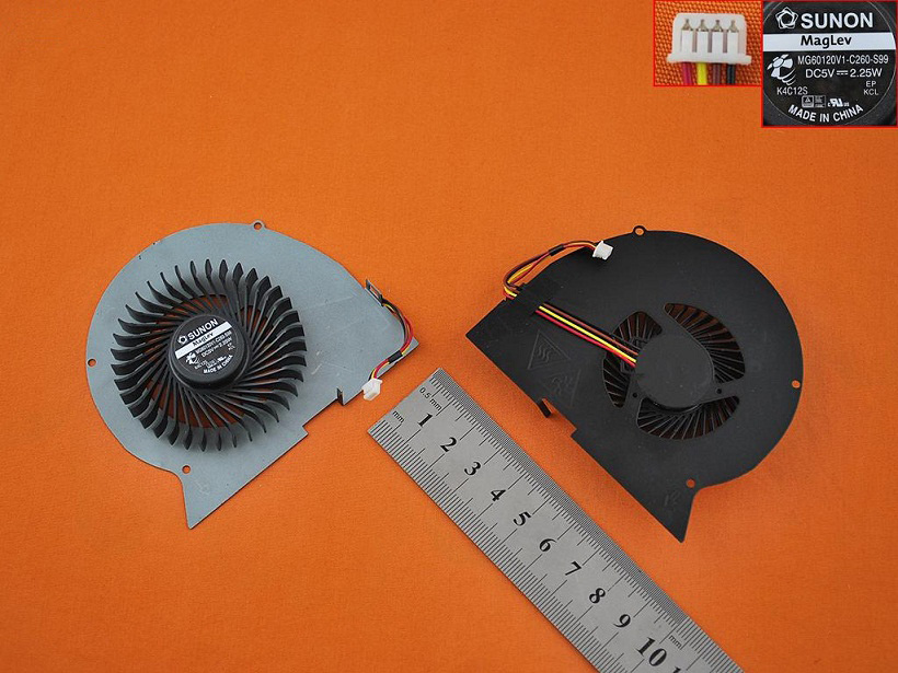 Ventilátor chlazení pro Lenovo Ideapad Y510P