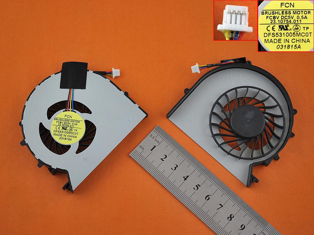 Ventilátor chlazení pro HP Probook 450 G0 450 G1 455 G1