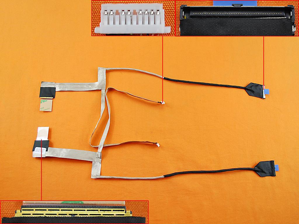 LCD flex kabel pro notebooky HP ProBook 4540S 4730S 4740S, 50.4RY03.001