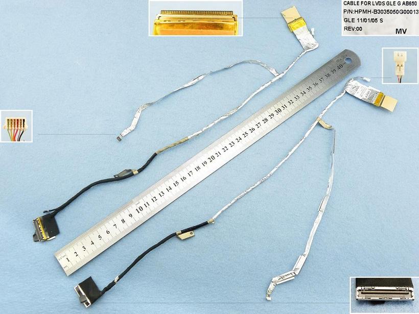 LCD flex kabel pro notebooky HP Pavilion Dv7-6000, HPMH-B3035050G300013