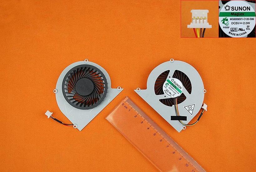 Ventilátor chlazení pro notebooky Acer Aspire 4830 4830G 4830T 4830TG