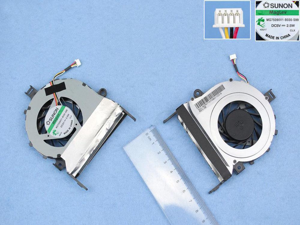Ventilátor chlazení pro notebooky Acer Aspire 5745 5745G laptop CPU COOLING fan cooler MG75090V1-B030-S99