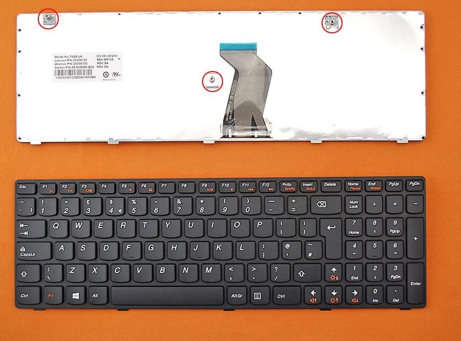 Klávesnice pro Lenovo IdeaPad G580 G580A G585 G585A Z580