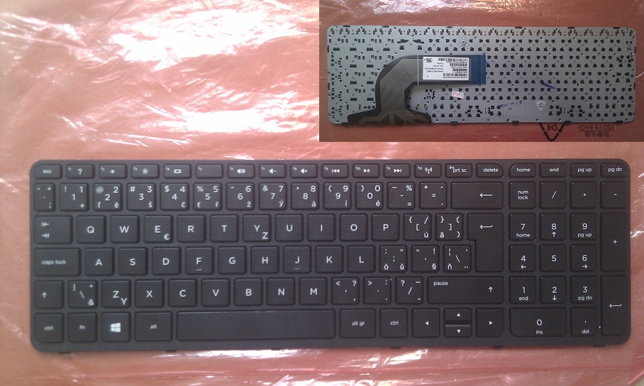 Česka/slovenská ( CZ/SK ) klávesnice HP Pavilion 15-E 15-N 250 G3 255 G3 256 G3