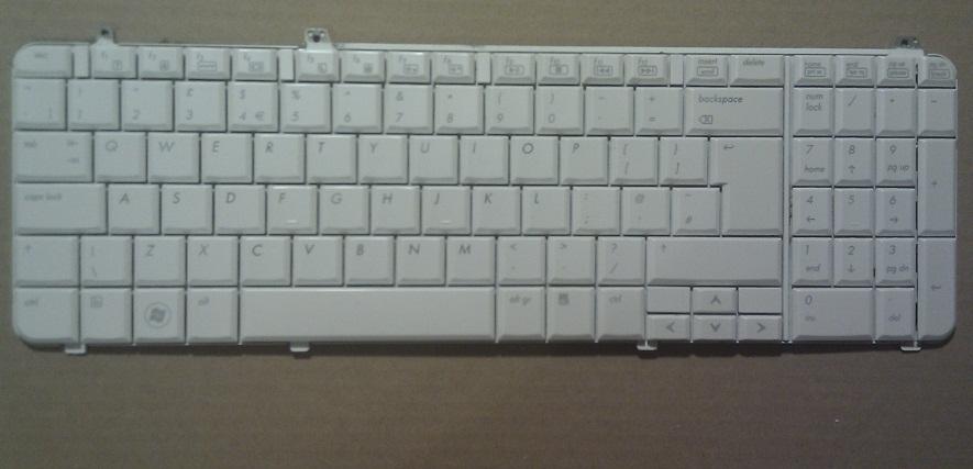 Použitá klávesnice z notebooku HP Pavilion dv6-1299ea