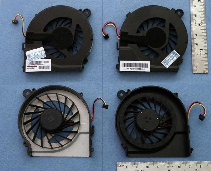 Ventilátor chlazení pro notebooky HP CQ56 G56 G62 G72 CQ62 CQ72 G42 CQ42 Pavilion G7 G6 G4