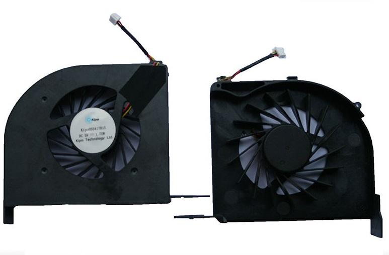 Ventilátor chlazení pro notebooky DV6-2000 DV6-2100 Intel 579158-001, oddělená grafická karta
