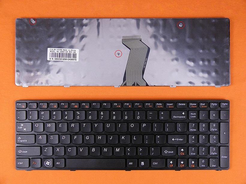 Klávesnice pro Lenovo IdeaPad G580 G580A G585 Z580 V580