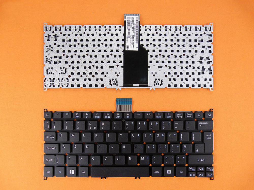 Klávesnice pro notebooky Acer S3-951 S3-391 S5-391 V5-171 Aspire One 725 756 Travelmate B1 - bílá