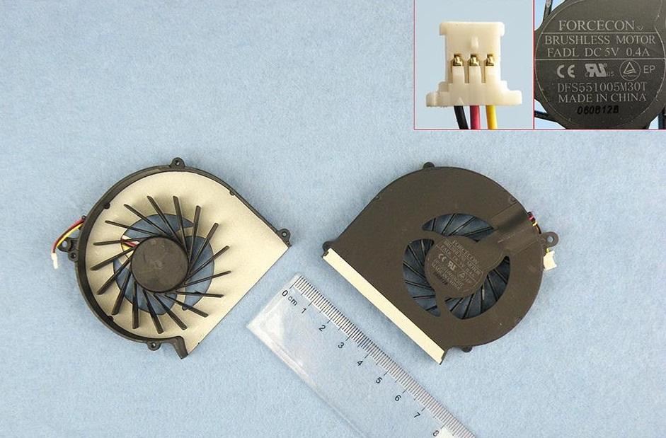 Ventilátor chlazení pro notebooky HP COMPAQ PRESARIO CQ43 CQ57 430 431 435 436 630 635