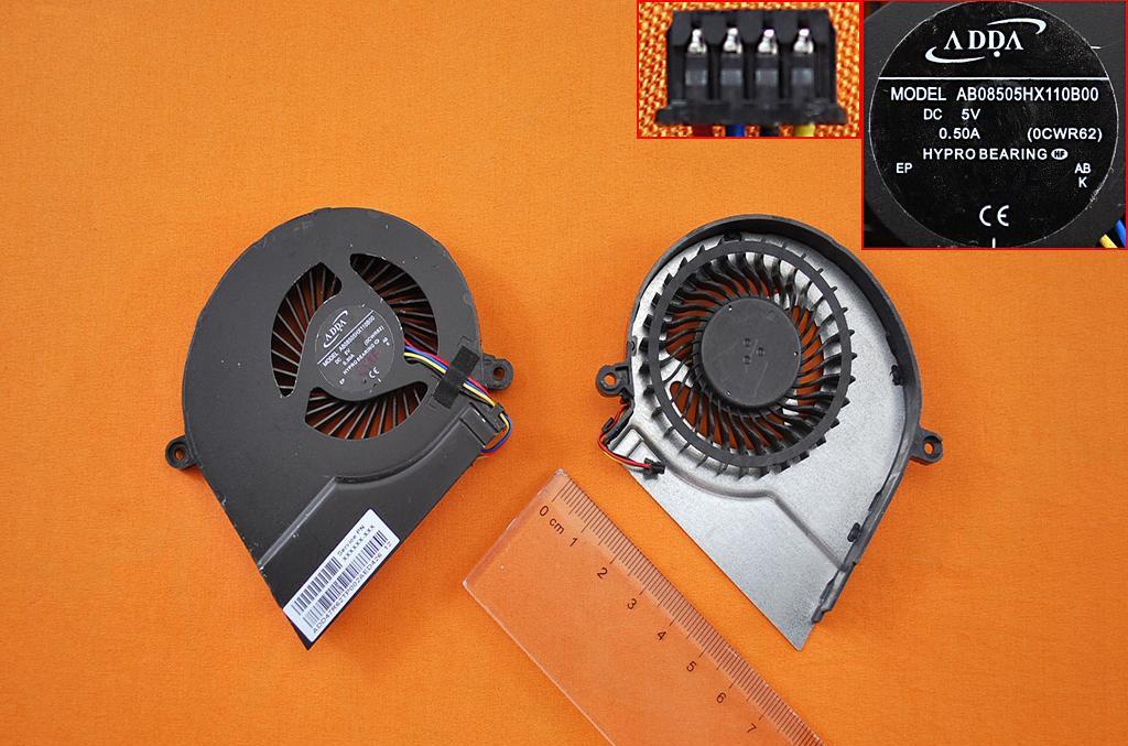 Ventilátor chlazení pro HP 15E 17E 15-E 17-E