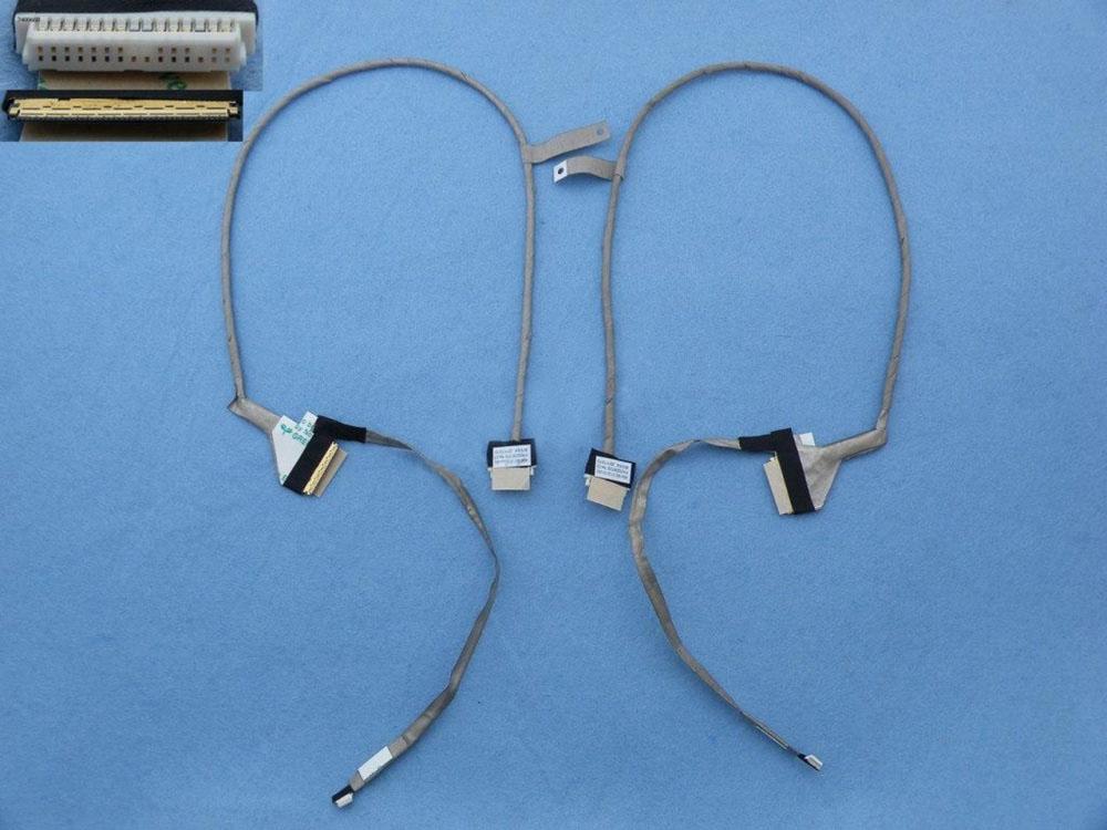 LCD flex kabel pro notebooky Toshiba Satellite C660 C665 C660D P755 LVDS LCD, verze 1