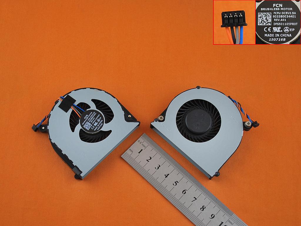 Ventilátor chlazení pro HP Probook 640 645 650 655 G1