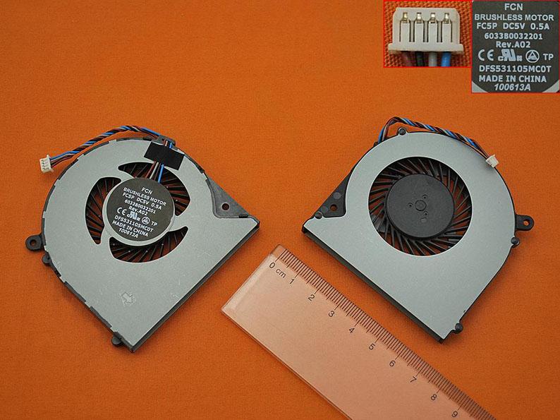 Ventilátor chlazení pro notebooky Toshiba Satellite L50 L950 L950D L955D S950 S955 S955D