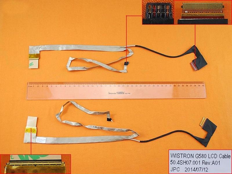 LCD flex kabel pro notebooky Lenovo G580 G585