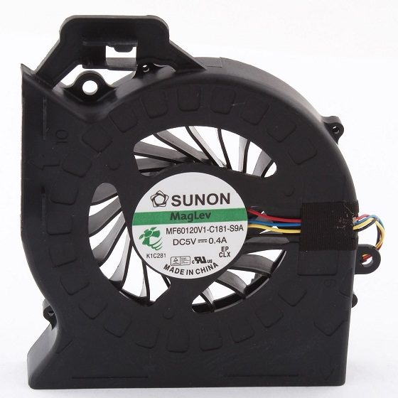 Ventilátor chlazení pro notebooky HP/Compaq DV6-6000 DV6-6050 DV6-6200 DV7-6000