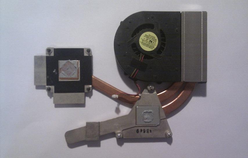 Kompletní chlazení pro notebooky: MSI gx623 MS-1651