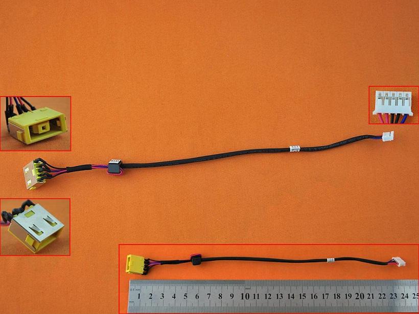 Napájecí konektor DC Lenovo Ideapad G500 G505 G500S G505S, verze 1