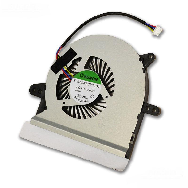Ventilátor chlazení pro notebooky Asus X401A X401E X401EI X501 X501U