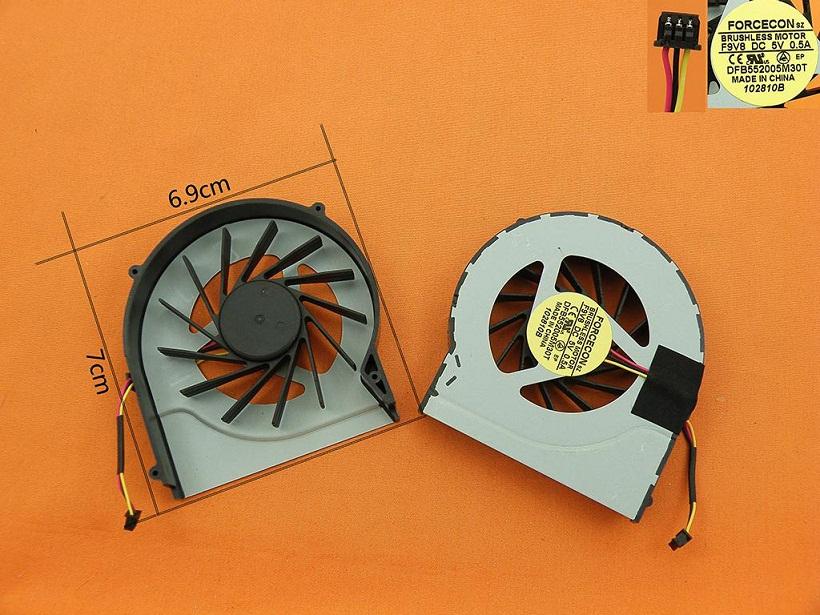 Ventilátor chlazení pro notebooky HP Pavilion DV7-4000 DV6-4000 DV6-3000 (3-PIN) - 622032-001
