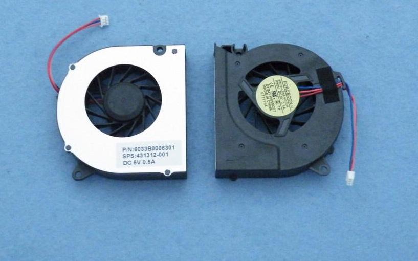 Ventilátor chlazení pro notebooky HP COMPAQ 6510B 6515B 6520S 6530B 6535B 6720S 6730B 6735 6830S
