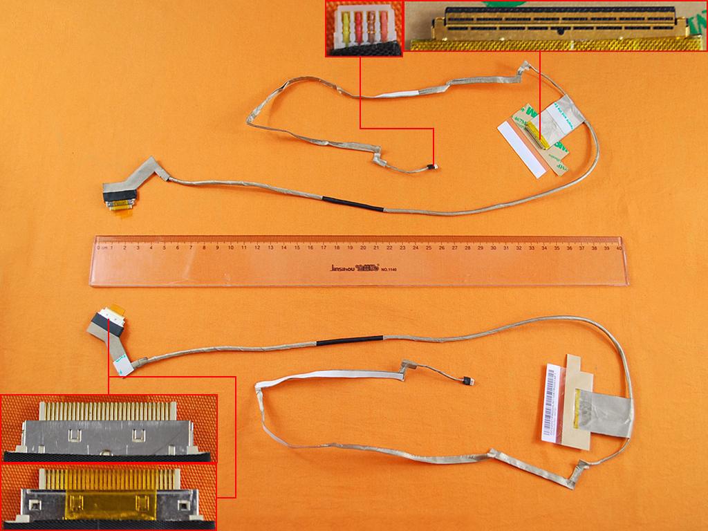 LCD flex kabel pro notebooky Lenovo G500 G505 G510