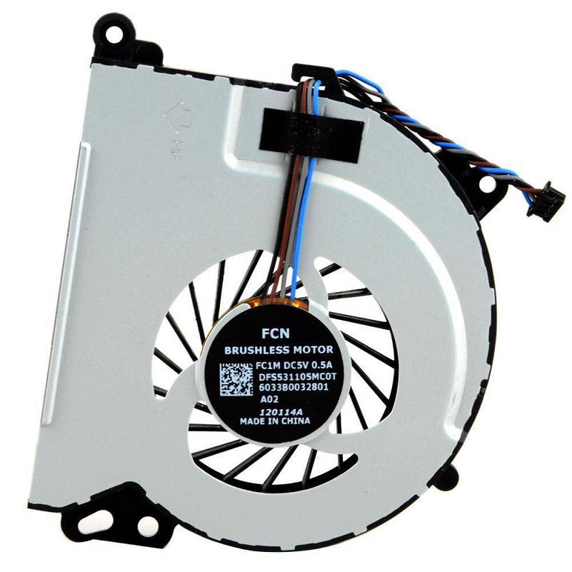 Ventilátor chlazení pro HP Envy 15 15T Envy 17