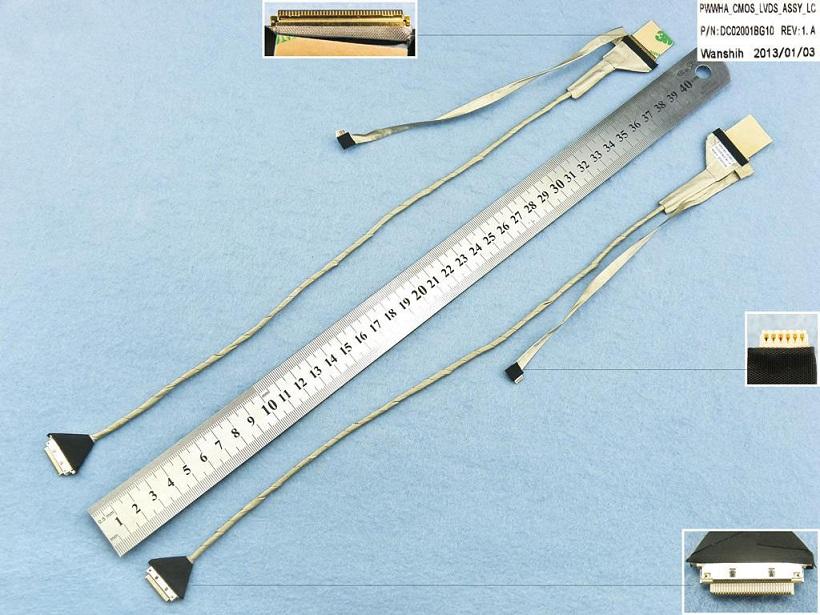 LCD flex kabel pro notebooky Toshiba Satellite C660 C665 C660D P755 LVDS, verze 2