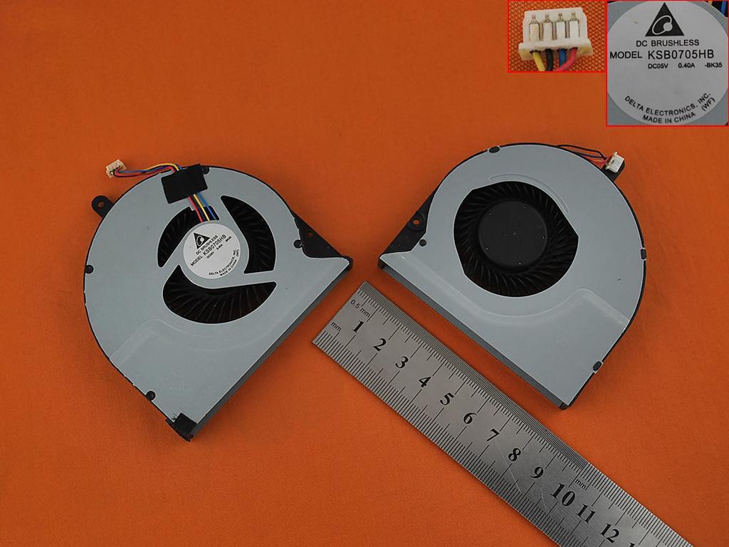 Ventilátor chlazení pro notebook: Asus N56 N56DP N56VW N56VM N56VZ N56DY