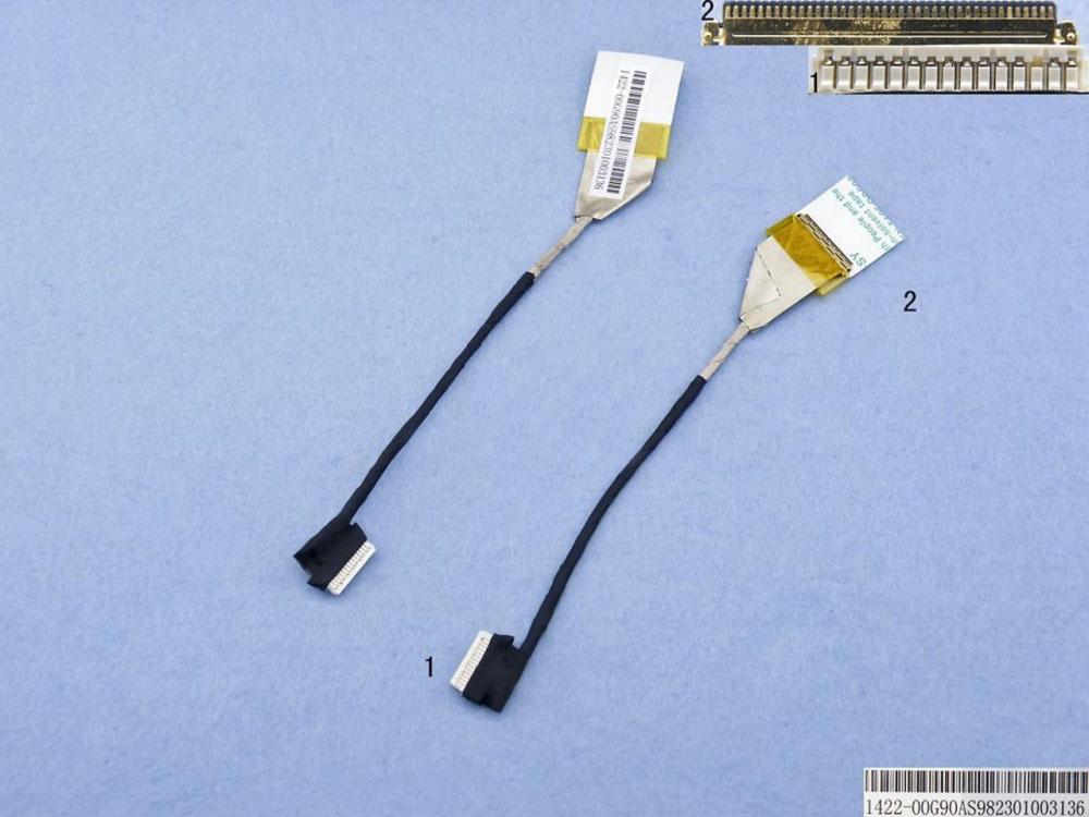 LCD flex kabel pro notebooky Asus K40 K40AB X8A K50 K50AB K50IN K50IE K50IJ K50ID K50C