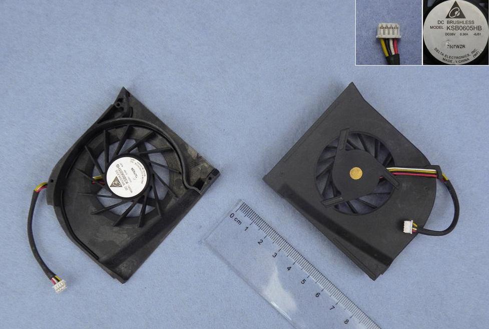Ventilátor chlazení pro notebooky HP Pavilion DV6000 DV6500 DV6600 DV6700 DV6800 pro Intel