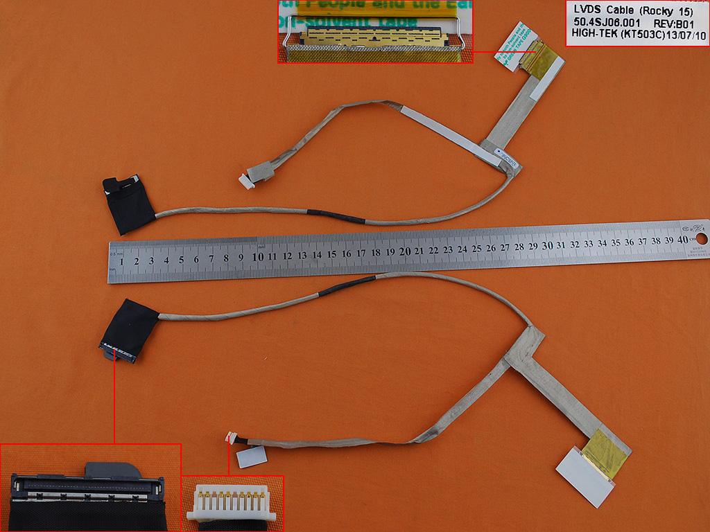 LCD flex kabel pro notebooky HP ProBook 4540S 4730S 4570S 4540 S 4730 S 4570 S