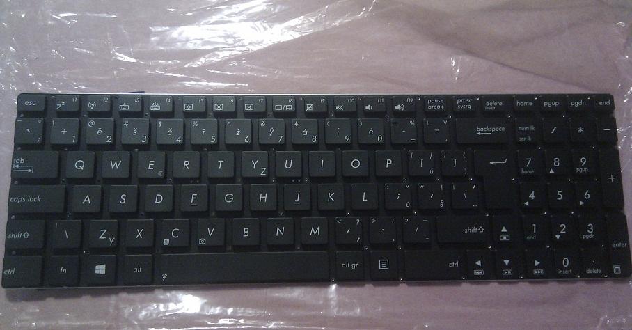 Klávesnice pro notebooky Asus N56 N56DP N56V N56VJ N56VM N56VZ R701VB R701VJ R701VM R701VZ R514J R514JR N76VB N76VJ N76VM